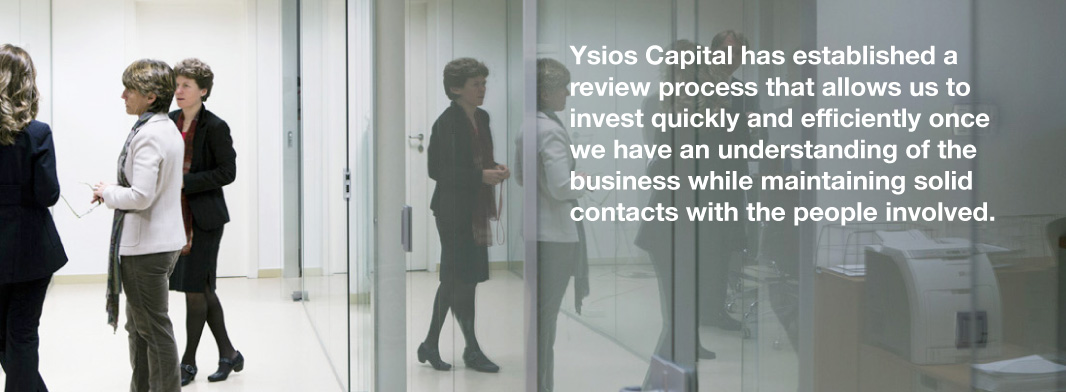 YSIOS CAPITAL - Investment process
